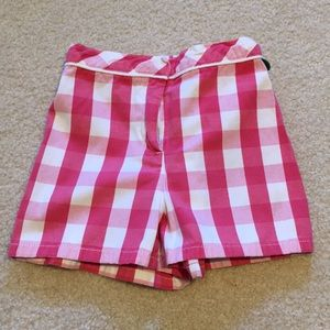 EUC Gymboree plaid shorts